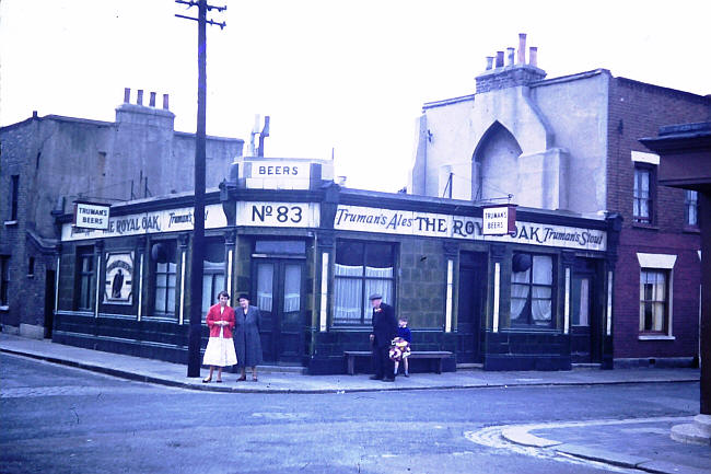 Royal Oak, viewed from Woodman Street, 1958, author unknown.